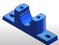Pillow block bearing (pedestal bearing) - construction and uses.