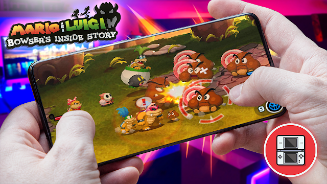 Mario & Luigi: Bowser's Inside Story Para Teléfonos Android (ROM NDS)