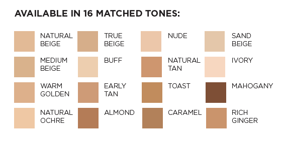 Revlon Full coverage Foundation Swatches Shades