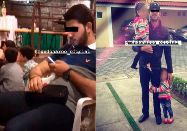 Fotografías, Ineditas son filtradas de Edgar Coronel Aispuro  hermano de Emma Coronel y cuñado de El Chapo