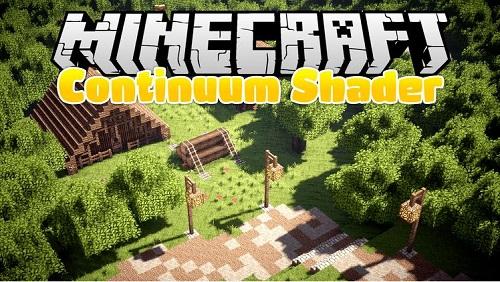 Hack giao diện Continuum đem lại những khung cảnh huyền ảo cho Minecraft