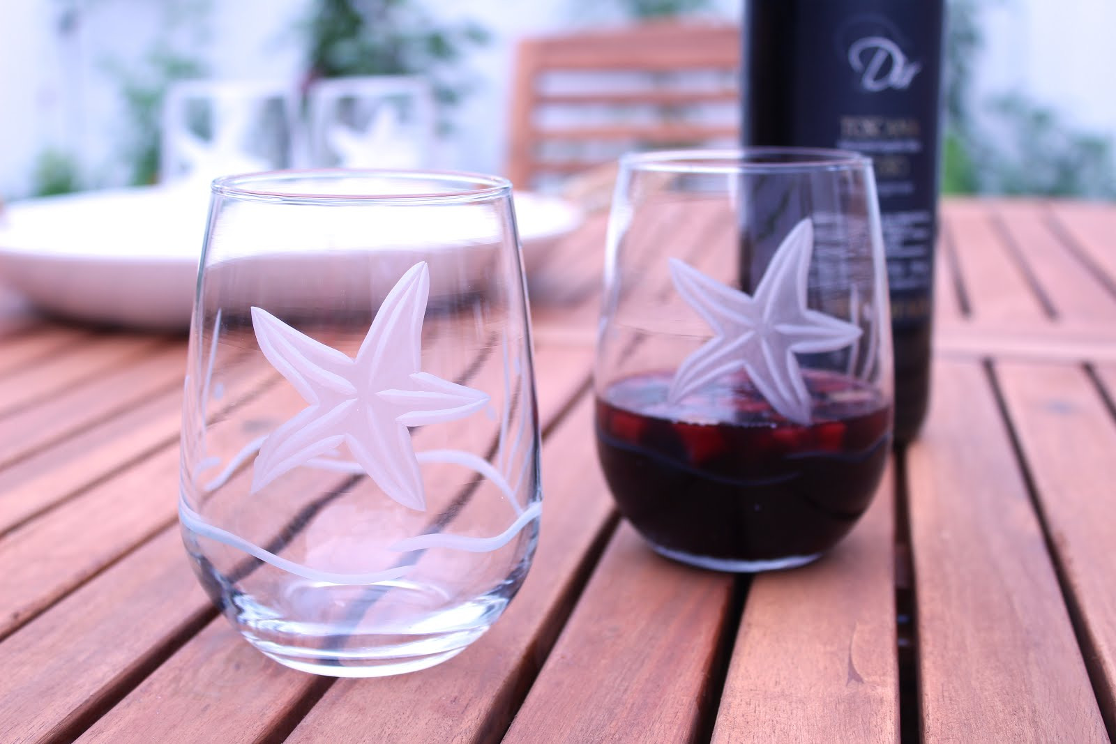 Our Coastal Glassware Makes Entertaining a Beautiful Experience!