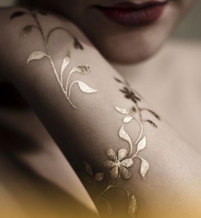 Black Gold Rings: Black Gold Rings 3d Tattoos