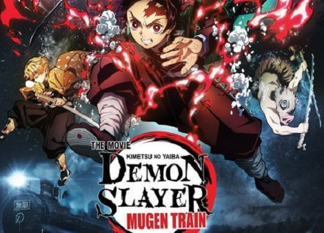 Download Demon Slayer: Mugen Train (2020) 720p + 1080p Bluray Japanese ESub