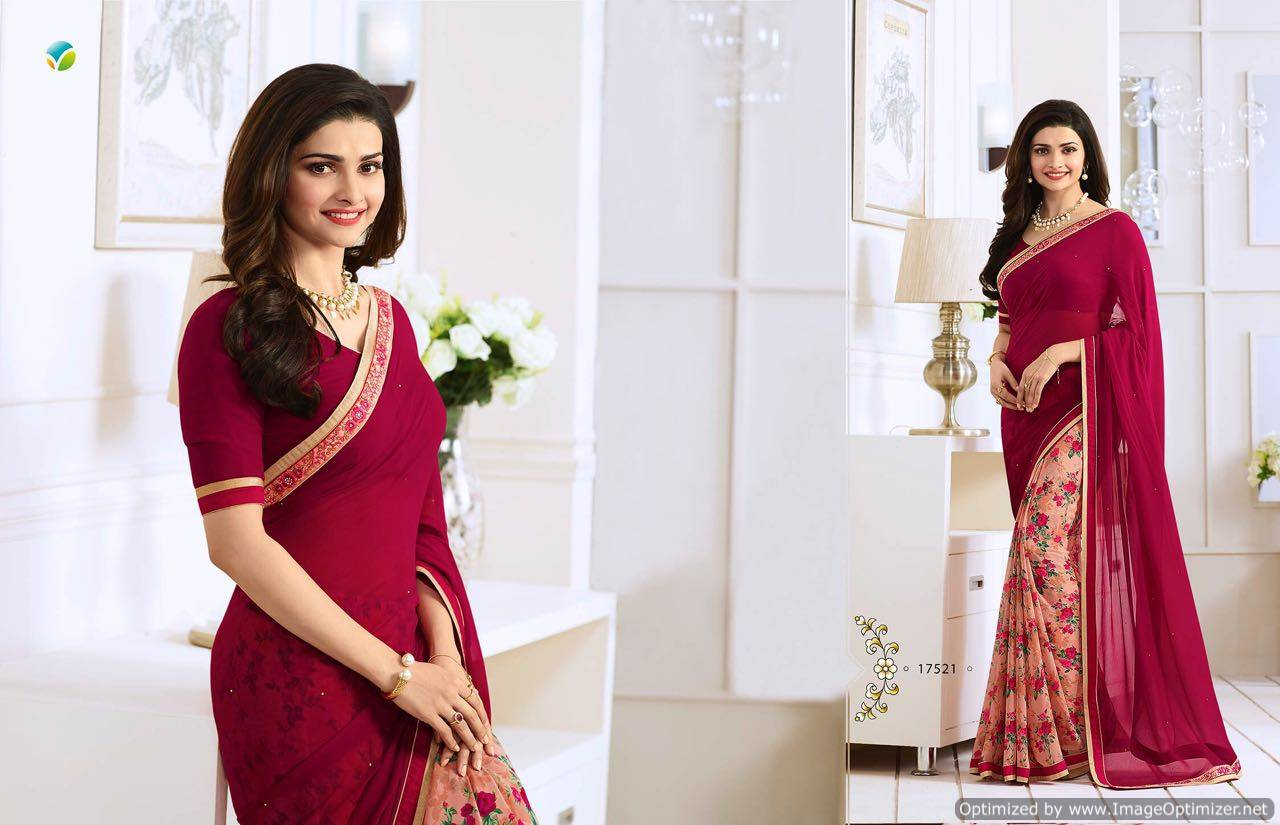 Starwalk 20 – Online Exclusive Attractive Georgette Printed Saree