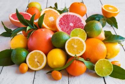 bổ sung collagen tự nhiên từ trái cây nhiều múi
