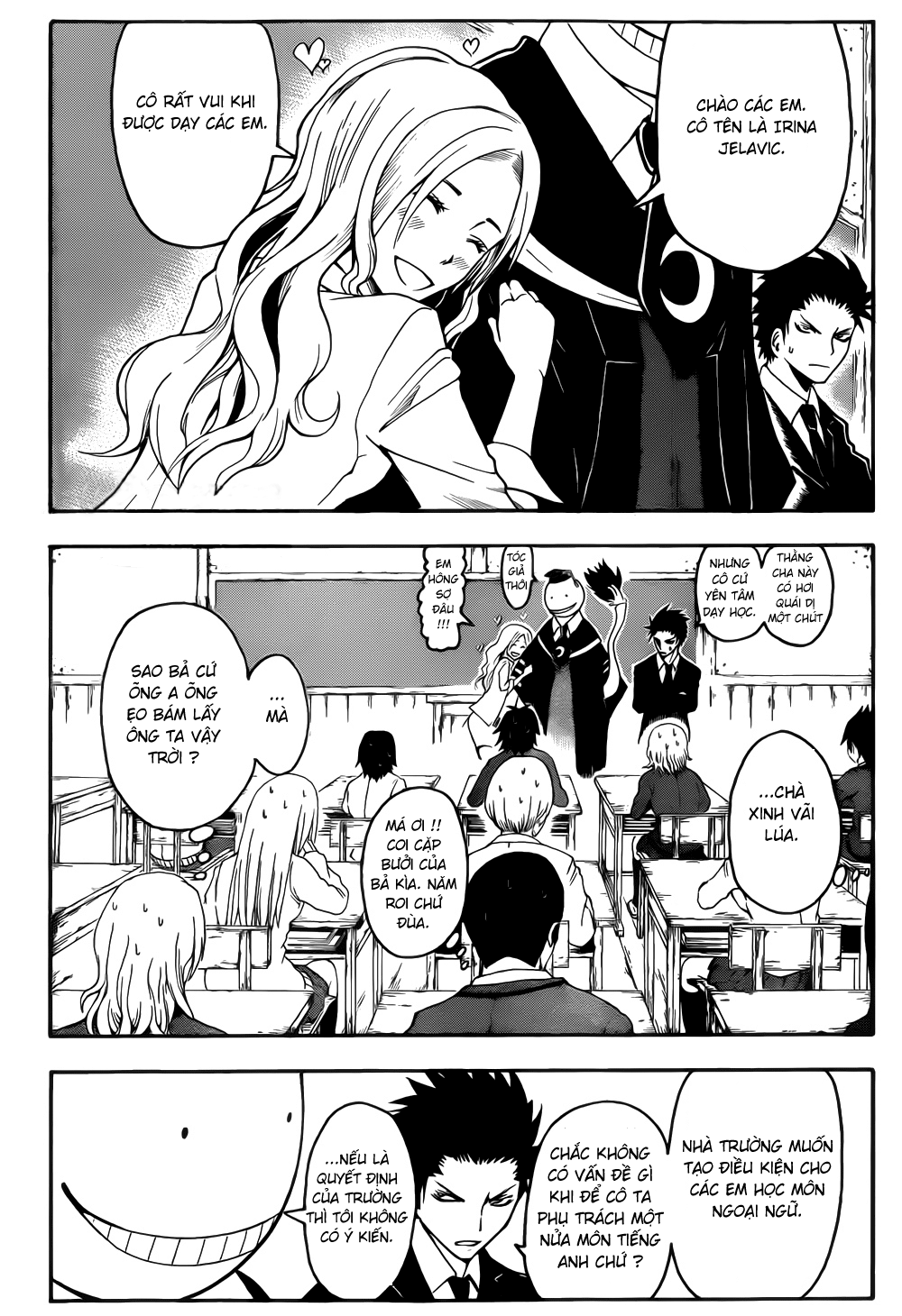 Ansatsu Kyoushitsu chap 8 trang 7