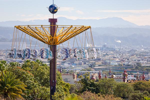 麗寶樂園落羽松超夢幻,800公尺落羽松大道免費參觀約會好去處