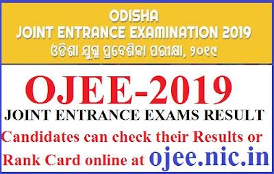 OJEE.NIC.IN  2019 ODISHA