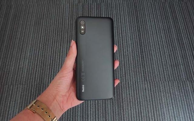 Design Xiaomi Redmi 9A