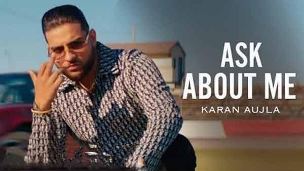ask about me karan aujla lyrics