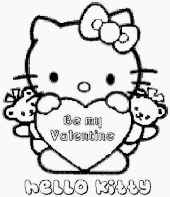Valentine Coloring Pages   Dr Odd