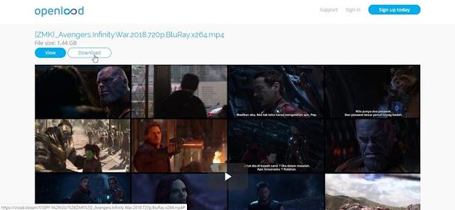 4. Cara Download Film di LK21