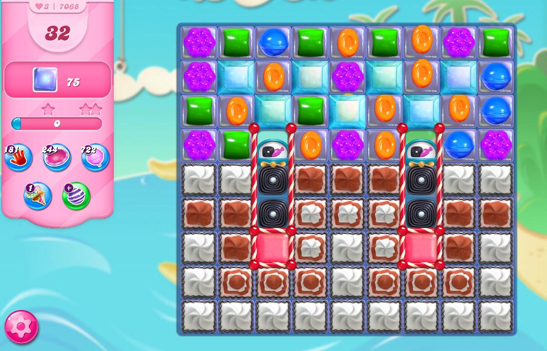 Candy Crush Saga level 7068