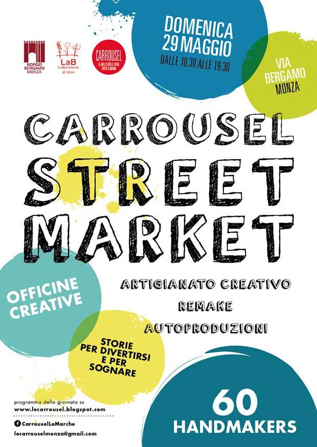Streetmarket Monza 29 maggio