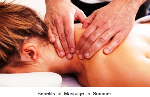 Benefits of Massage in Summer