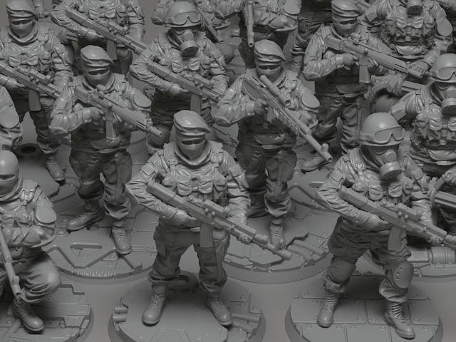 AblinoRavenMini is Creating Modern Soldiers that Look Fantastic
