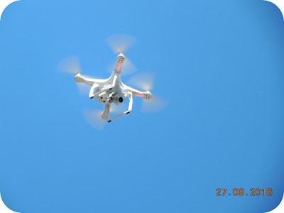 drona la Corcova Trail Race