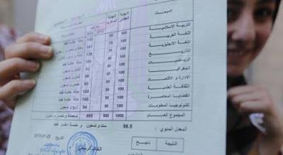 موعد  اعلان نتائج الثانوية العامة في الضفة المحتلة وقطاع غزة 2019