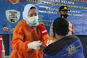 81 Warga Ikut Suntik Vaksin Covid-19 Polres Kepulauan Seribu