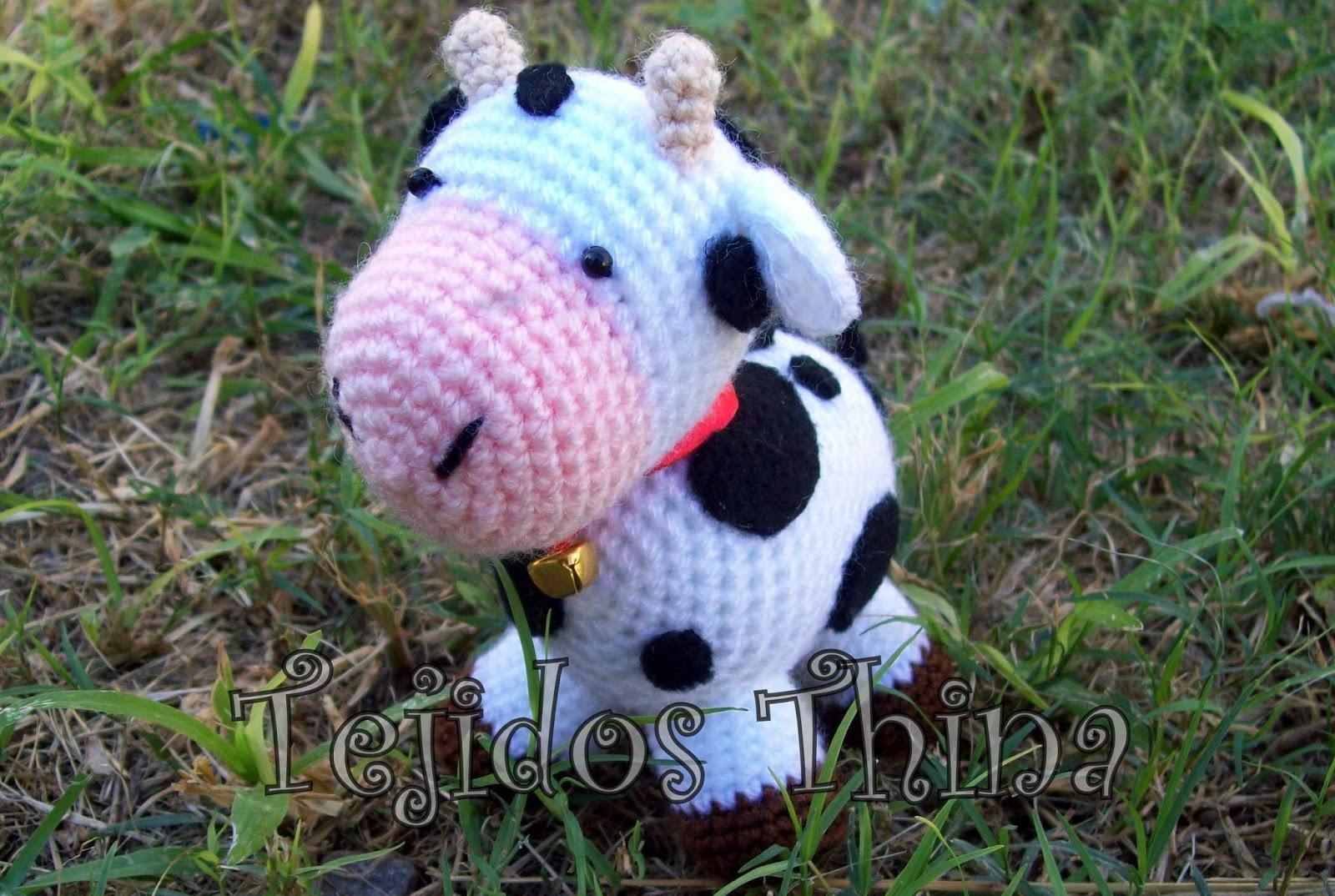 Amigurumi Vaca : Tejidos thina patrÓn gratis vaca amigurumi