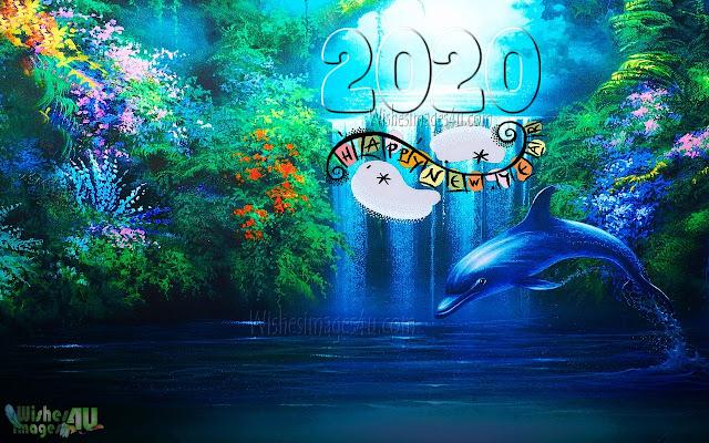 New year 2020 Nature Photo Greetings