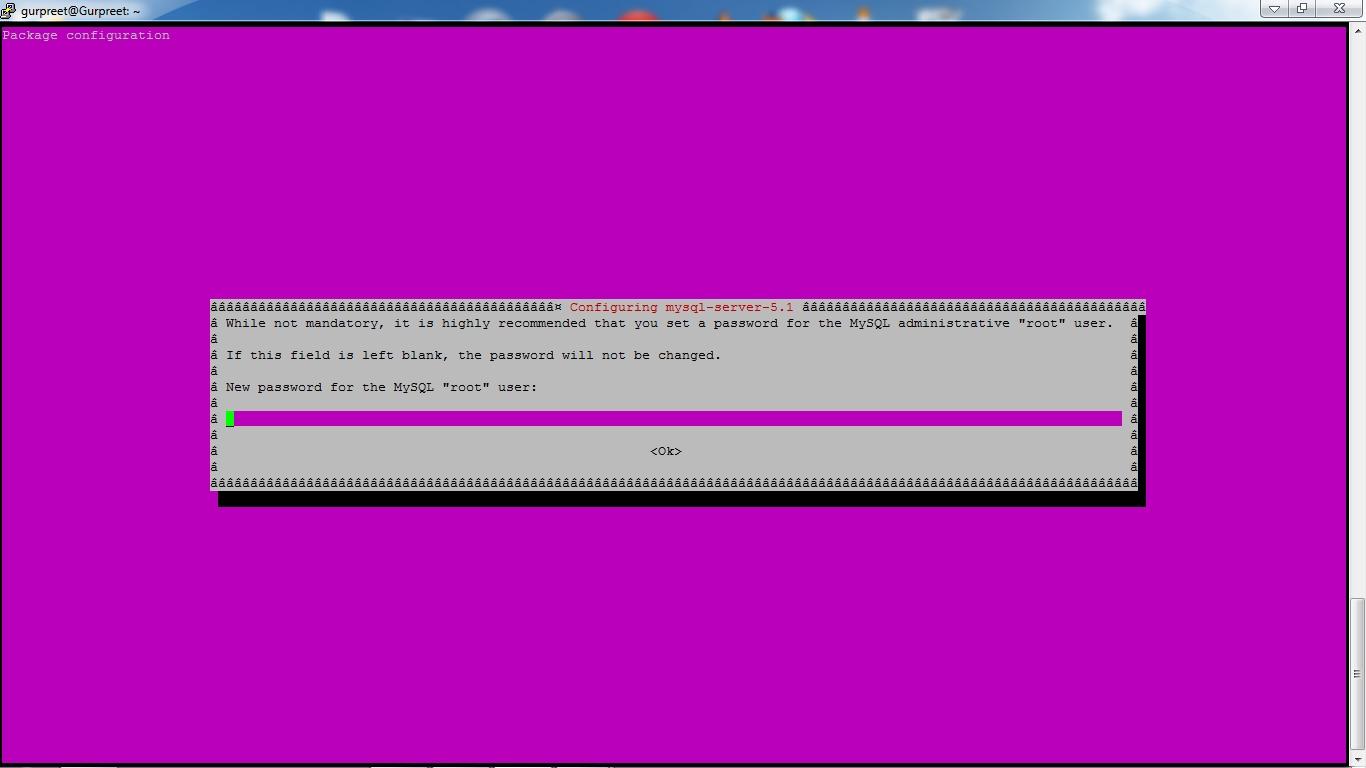 php mysql ubuntu installation