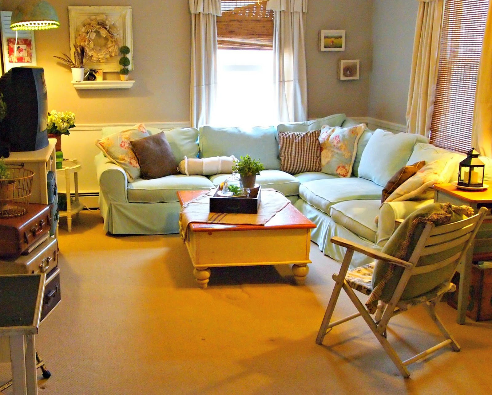 Turning A Bedroom Into A Den The Painted Home By Denise Sabia