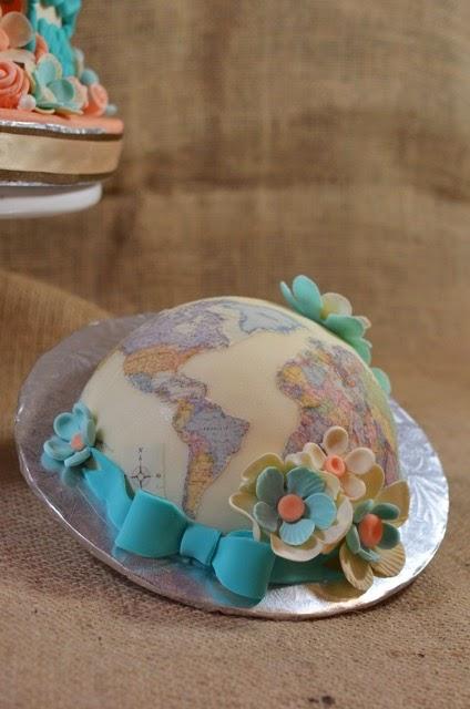 Cup A Dee Cakes Blog Little World Traveler Birthday Cake