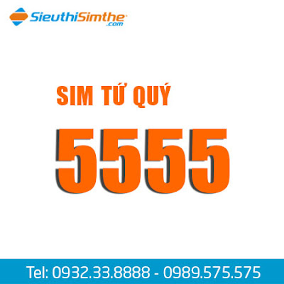 Sim tứ quý 5555