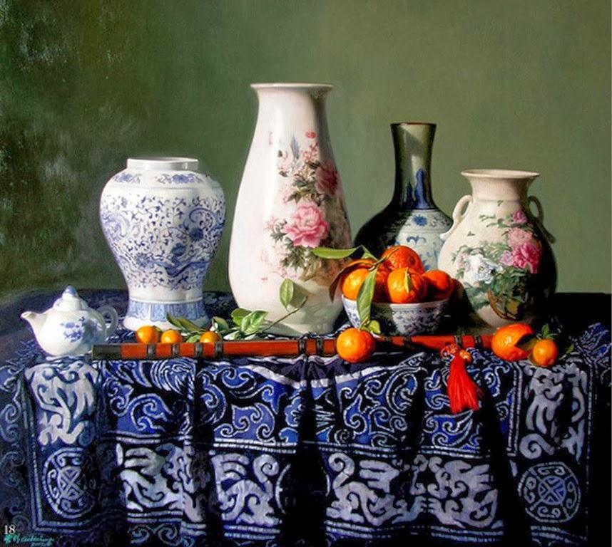 Cuadros modernos pinturas y dibujos bodegones for Cuadros decorativos clasicos