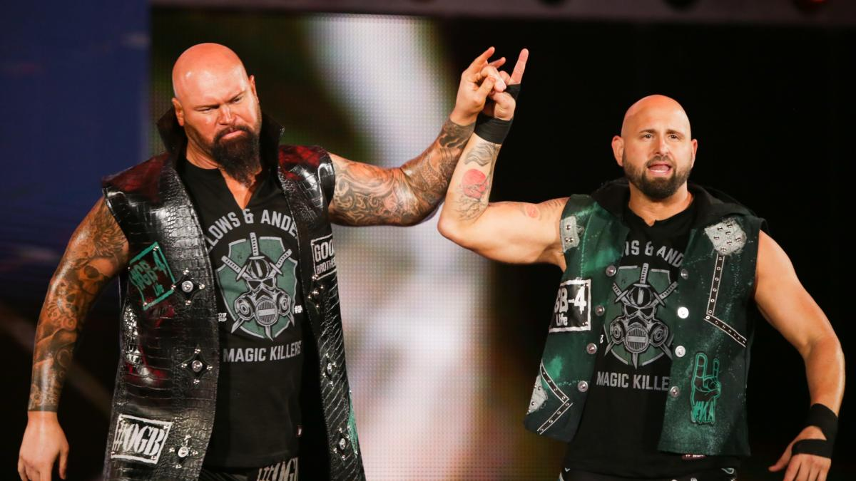 Good Brothers conquistam o IMPACT World Tag Team Championship