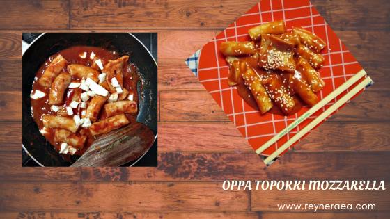 Oppa Topokki Mozzarella, Another Jajanan Khas Para Oppa Korea