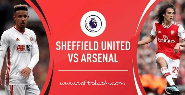 شاهد مباراة Sheffield United vs Arsenal live بمختلف الجودات
