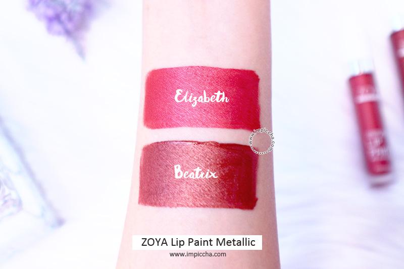 ZOYA Lip Paint Metallic swatch