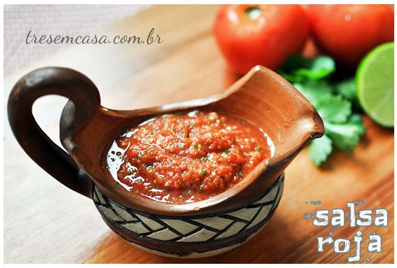 receita salsa roja