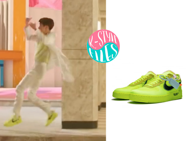 BTS's 'Boy With Luv' MV (2) Sneakers Edition