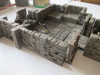 The Miniatures Man: 3D-printing – a cool dungeon from