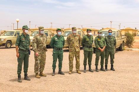 أمريكا تسلم مركبات متخصصة إلى القوات العسكرية الخاصة المغربية