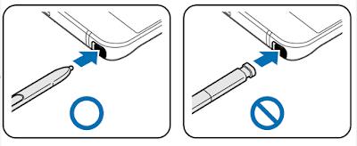 Samsung Galaxy Note 5 S Pen Damage Manual