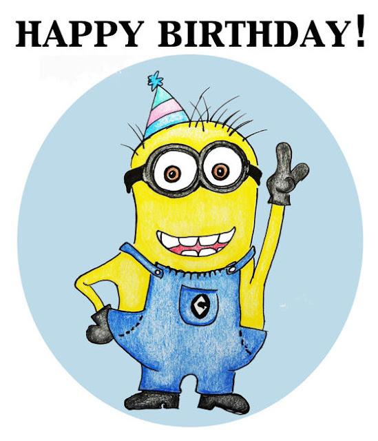Happy Birthday Minions Wallpaper Wwwpicsbudcom