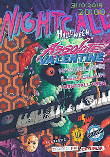Nightcall // 31.10. w Absolute Valentine, Leo Clair & Nyctalope