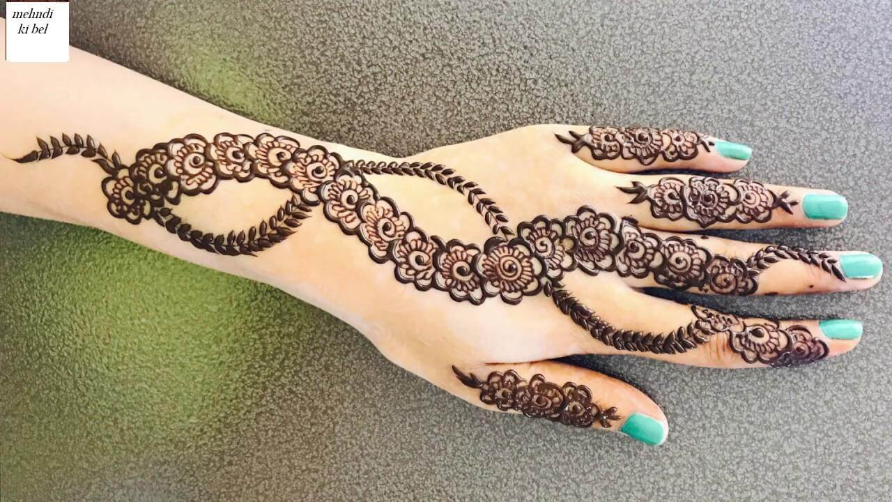 New bail mehndi design bail mehndi design mehndi ki bel latest bail mehndi design new bail mehndi thecheapjerseys Choice Image
