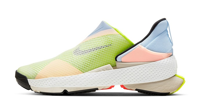 Nike Go FlyEase Hands-Free Sneakers Pink Colour