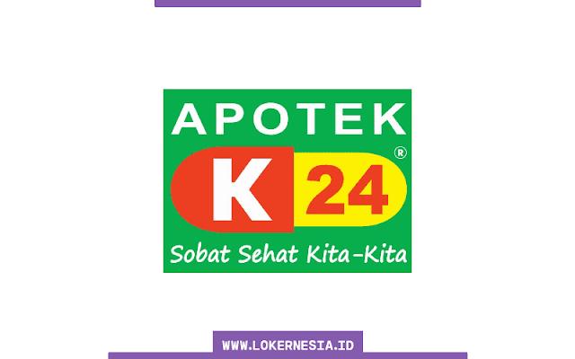 Lowongan Kerja Admin Apotek K-24 Surabaya November 2020