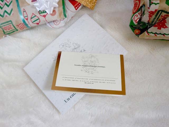 Laboté et sa carte cadeau