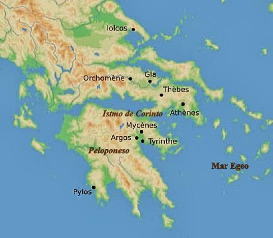 Micenes, Grècia, Peloponès