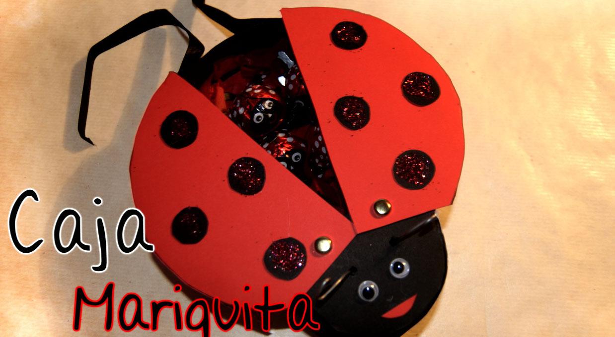 Brotes de Creatividad: Caja mariquita / LadyBug