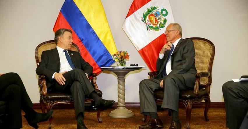 COLOMBIA: Presidente Juan Manuel Santos expresa solidaridad con Perú por huaicos e inundaciones