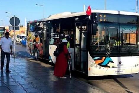 حافلات ألزا الجديدة في الرباط تُقصي سلا وتُخطئ كتابة الأمازيغية